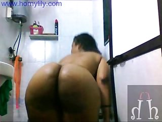 Big Boob Indian Babe Lily In Shower